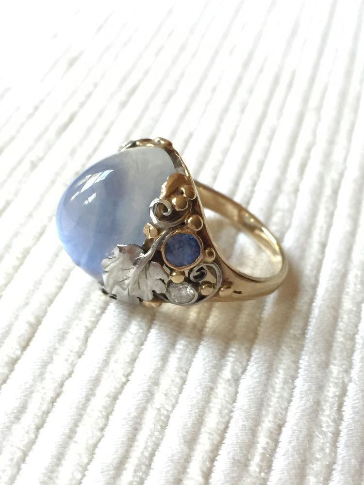 438118aa5 A beautiful rare ring with exquisite setting from the hand of Edward Oakes,  the noted
