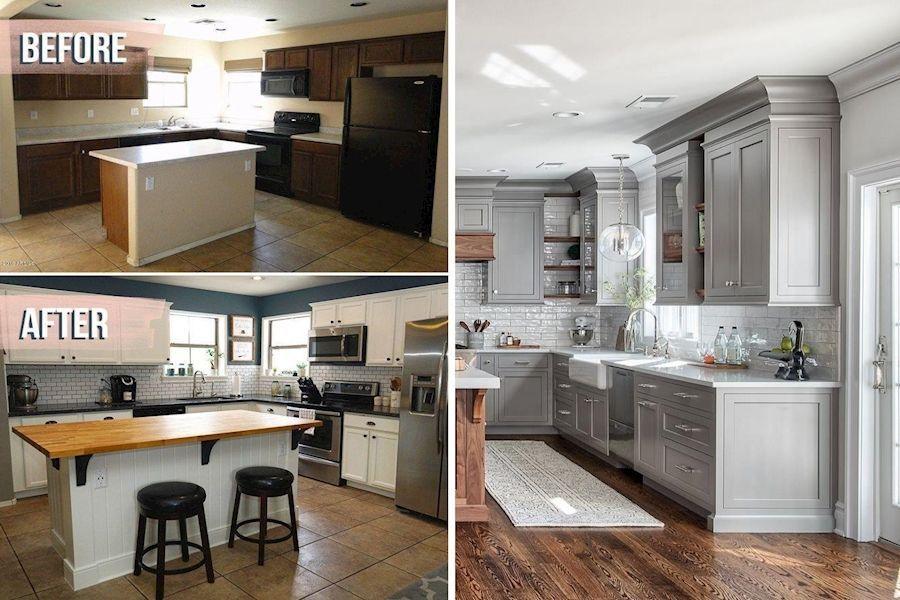 Log Cabin Decor In 2020 White Kitchen Decor Small Kitchen Kitchen Decor