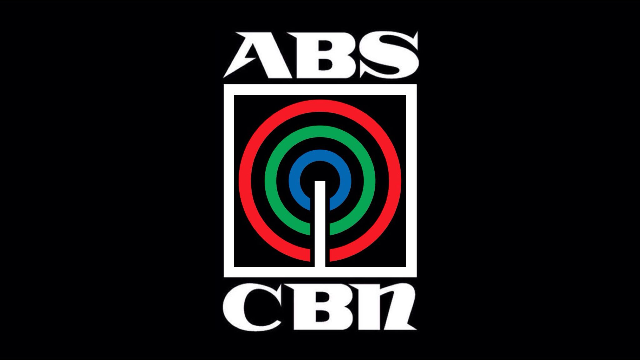 Abs Cbn S Logo 1996 1999 Black And Widescreen 16 9 Version