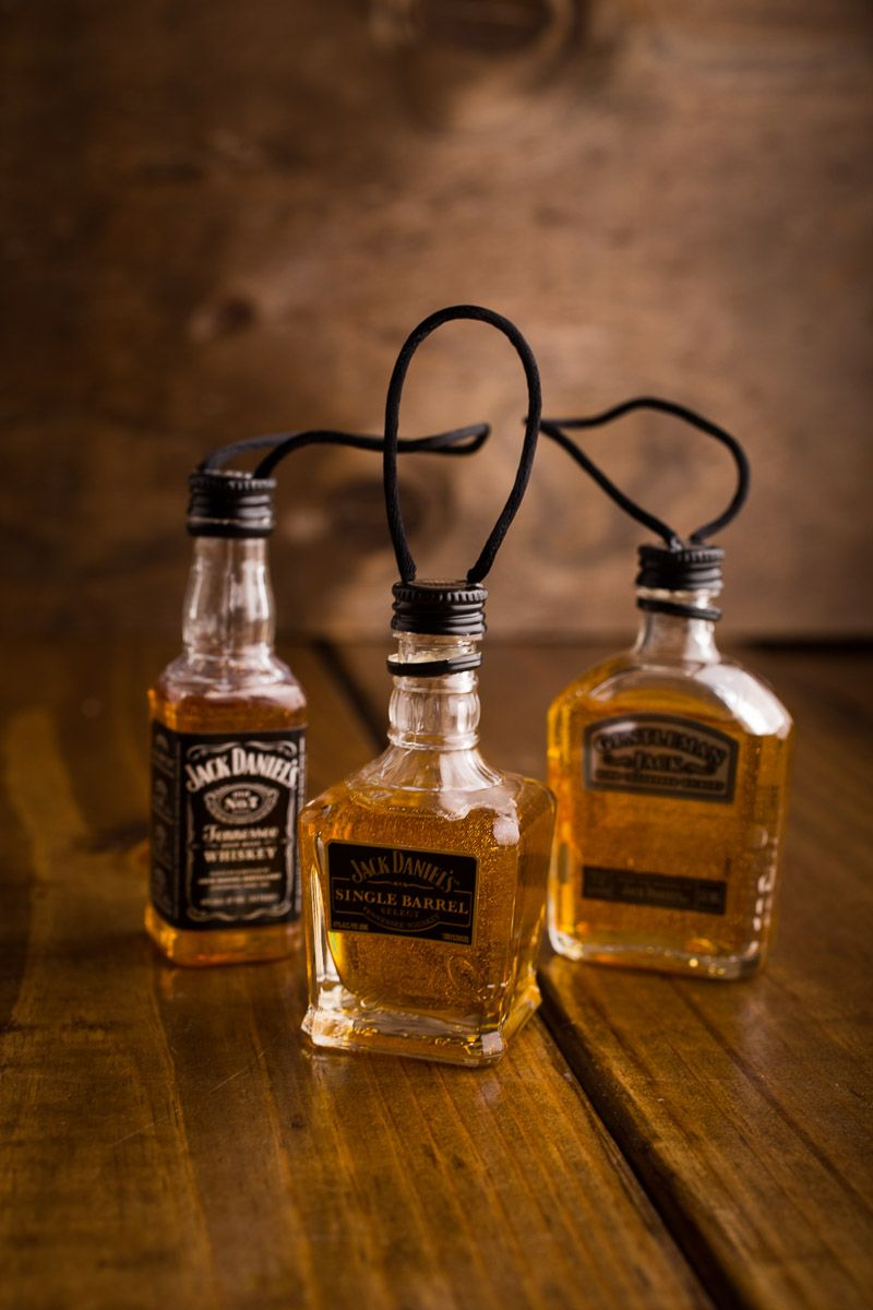 Whiskey Bottle Christmas Ornaments Packuld Make These With Resin Or  Clear