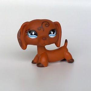 Lps littlest petshop chien dog teckel jouet animal 675 - Chien pet shop ...