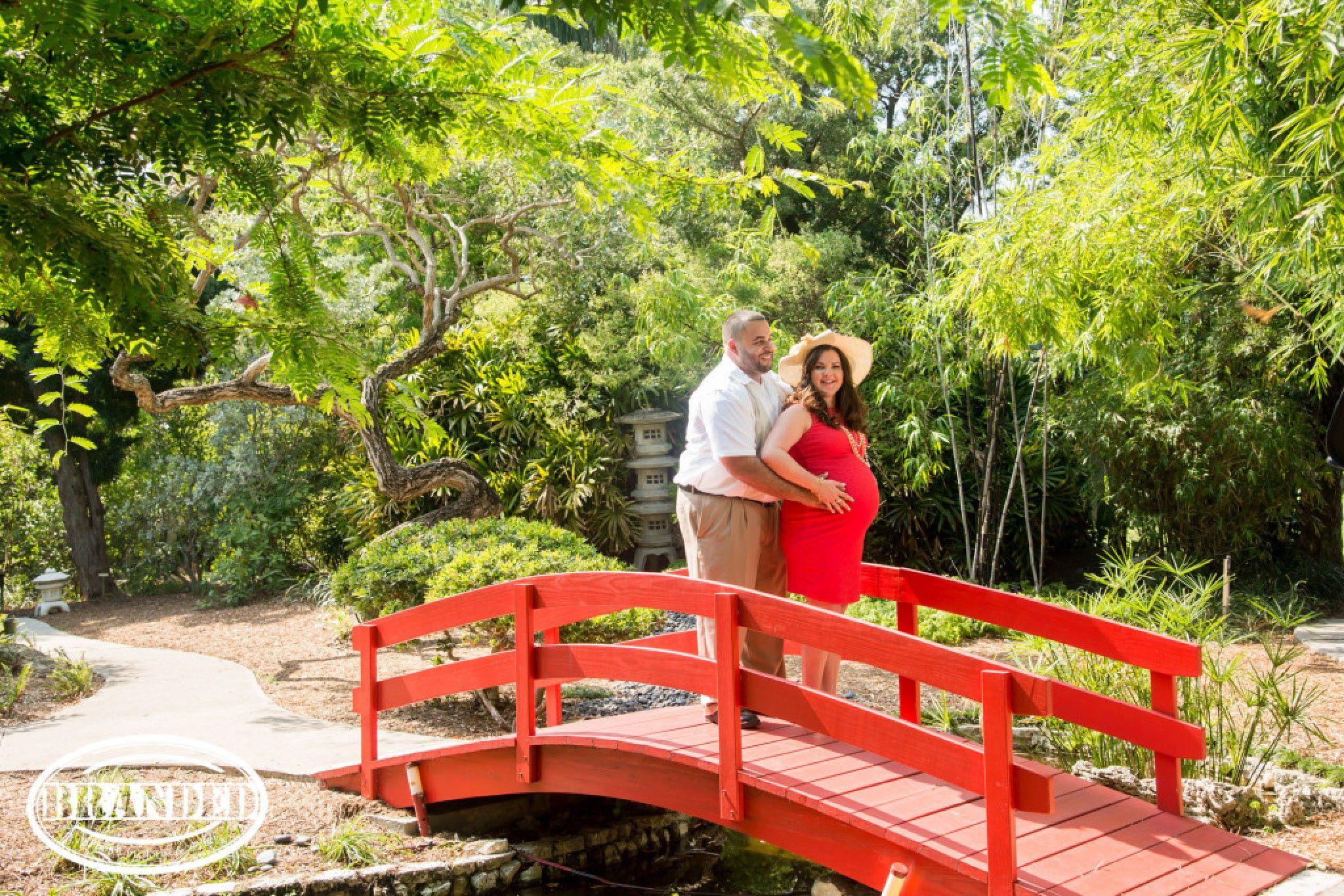 Garden Theme Maternity Photography Session - Miami Beach Botanical ...