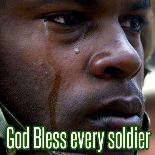God Bless America Us Army Soldier