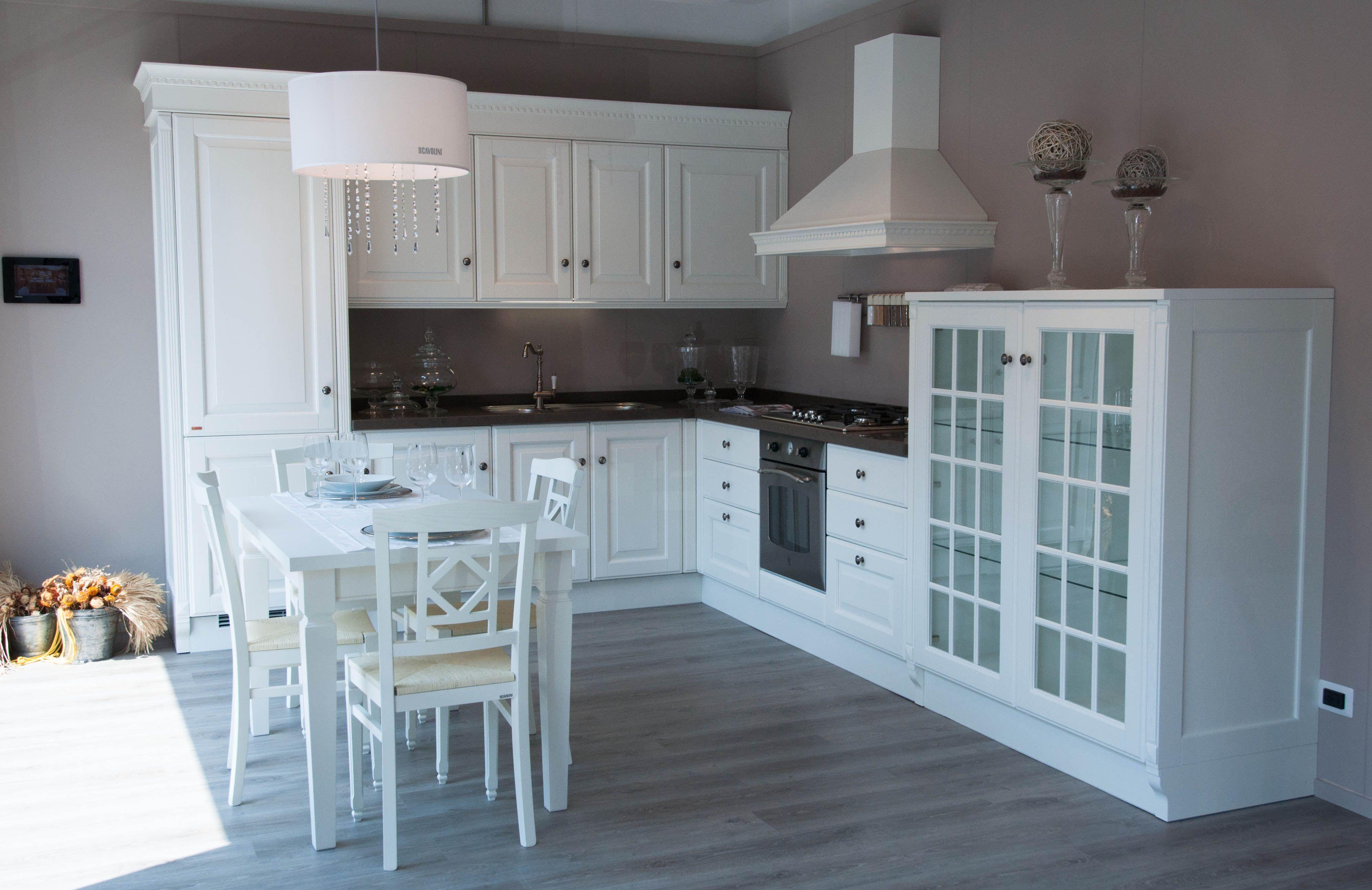 Cucine bianche classiche scavolini idee casa pinterest shabby - Cucine classiche bianche ...
