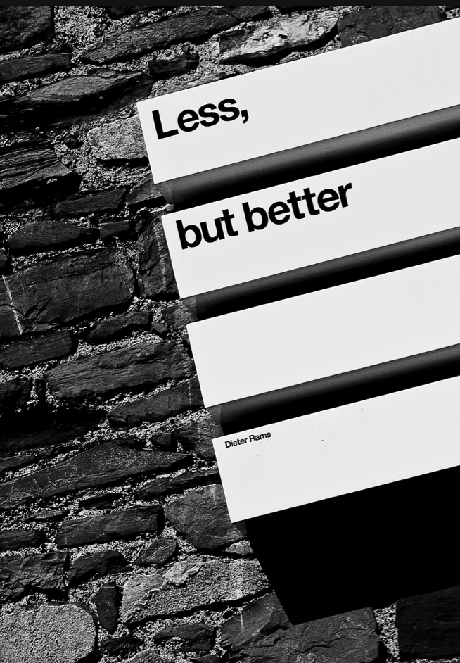 Minimalism. These three simple words make me want to run through my home, grabbing up armfuls of 'stuff' to donate or trash.