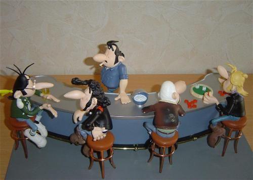 personnages secondaires et extras figurines joe bar team ma collection de figurines du joe. Black Bedroom Furniture Sets. Home Design Ideas