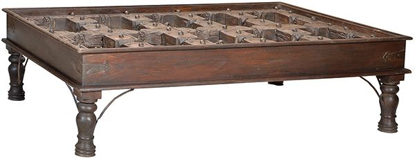 Antique Door Coffee Table www.artiquesimports.com
