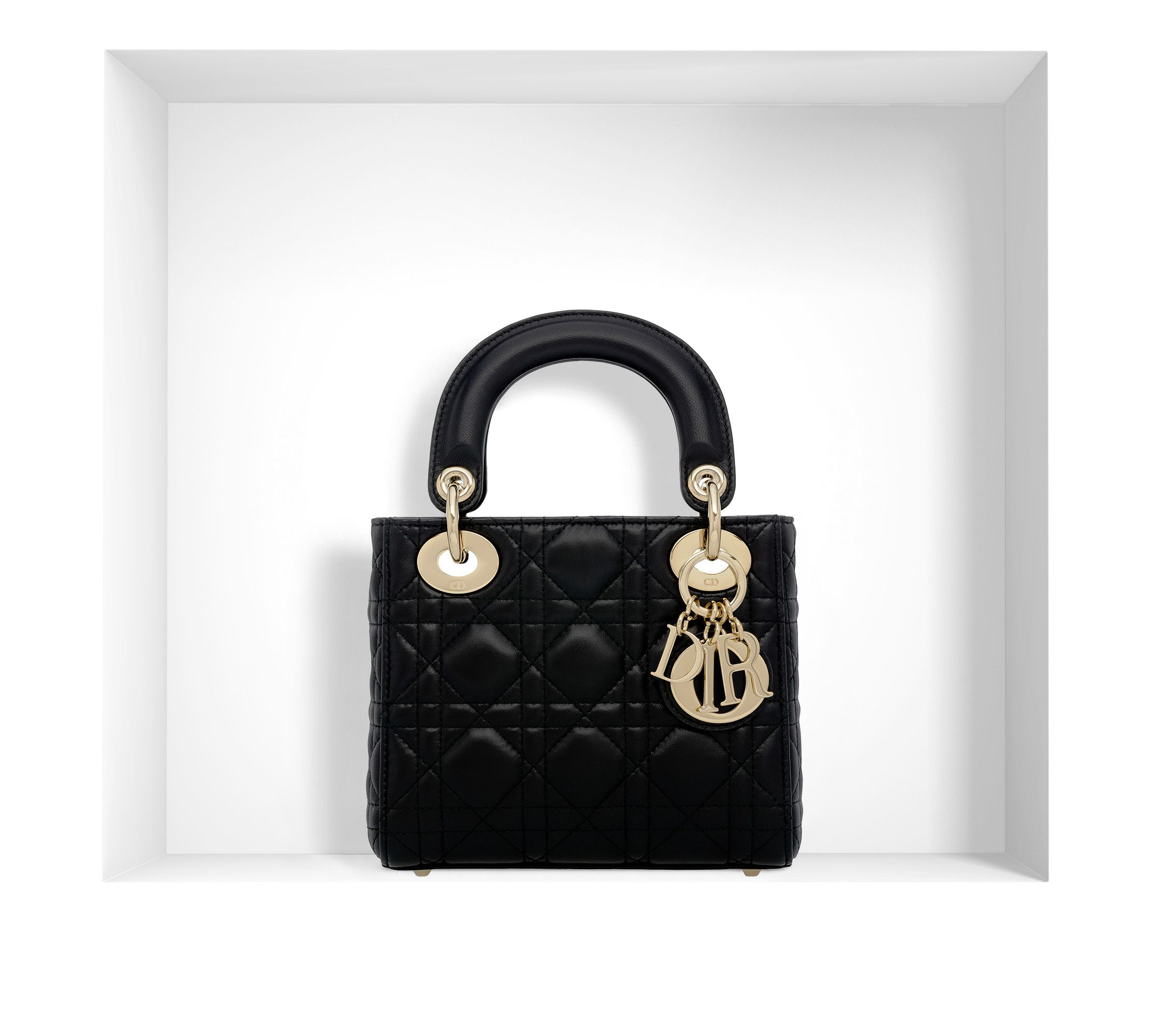b22363a232a Mini Lady Dior lambskin bag | Handbag loves | Dior mini bag, Lady ...