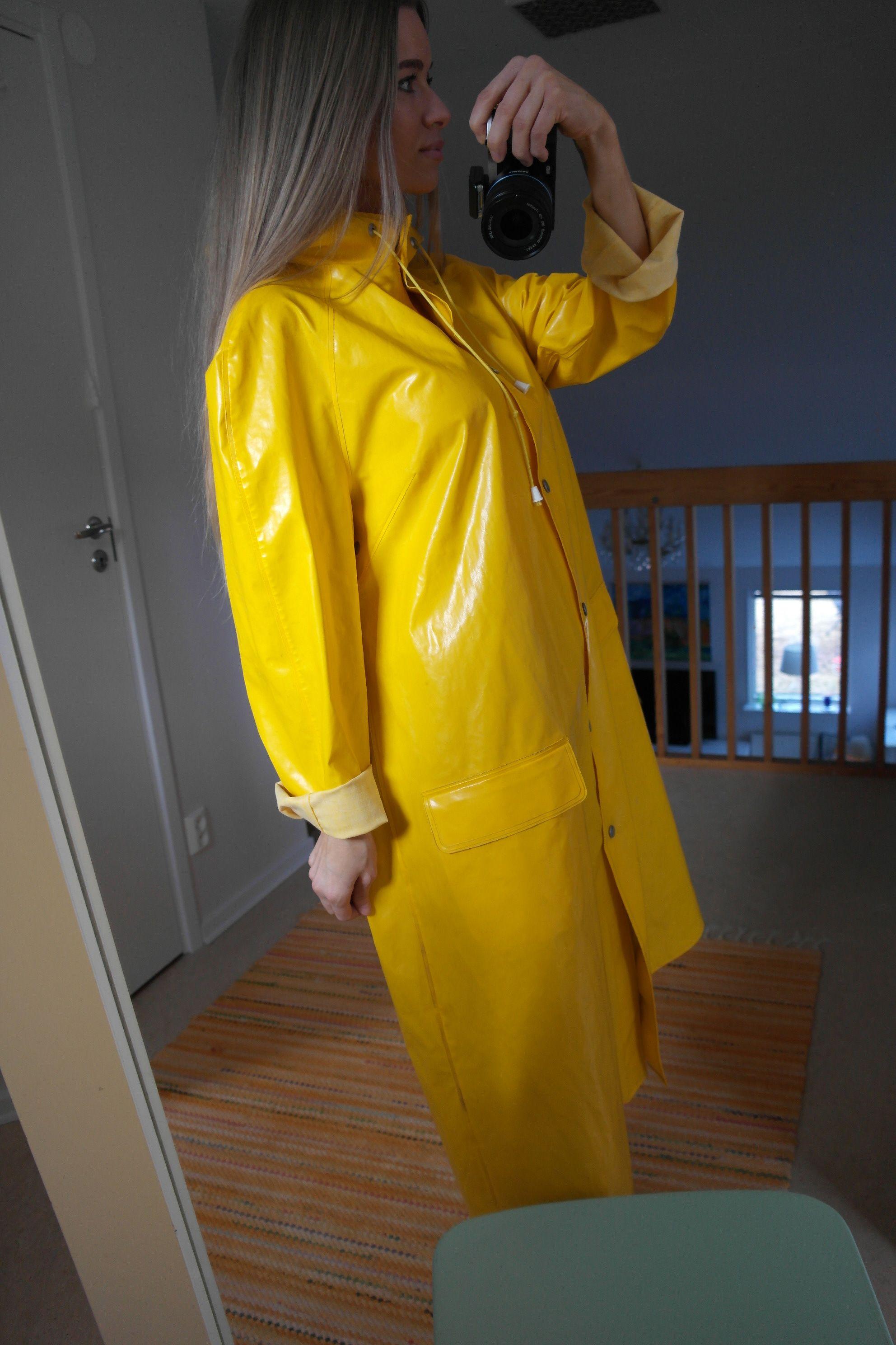 Rukka yellow raincoat | Raincoat | Pinterest | Yellow ...