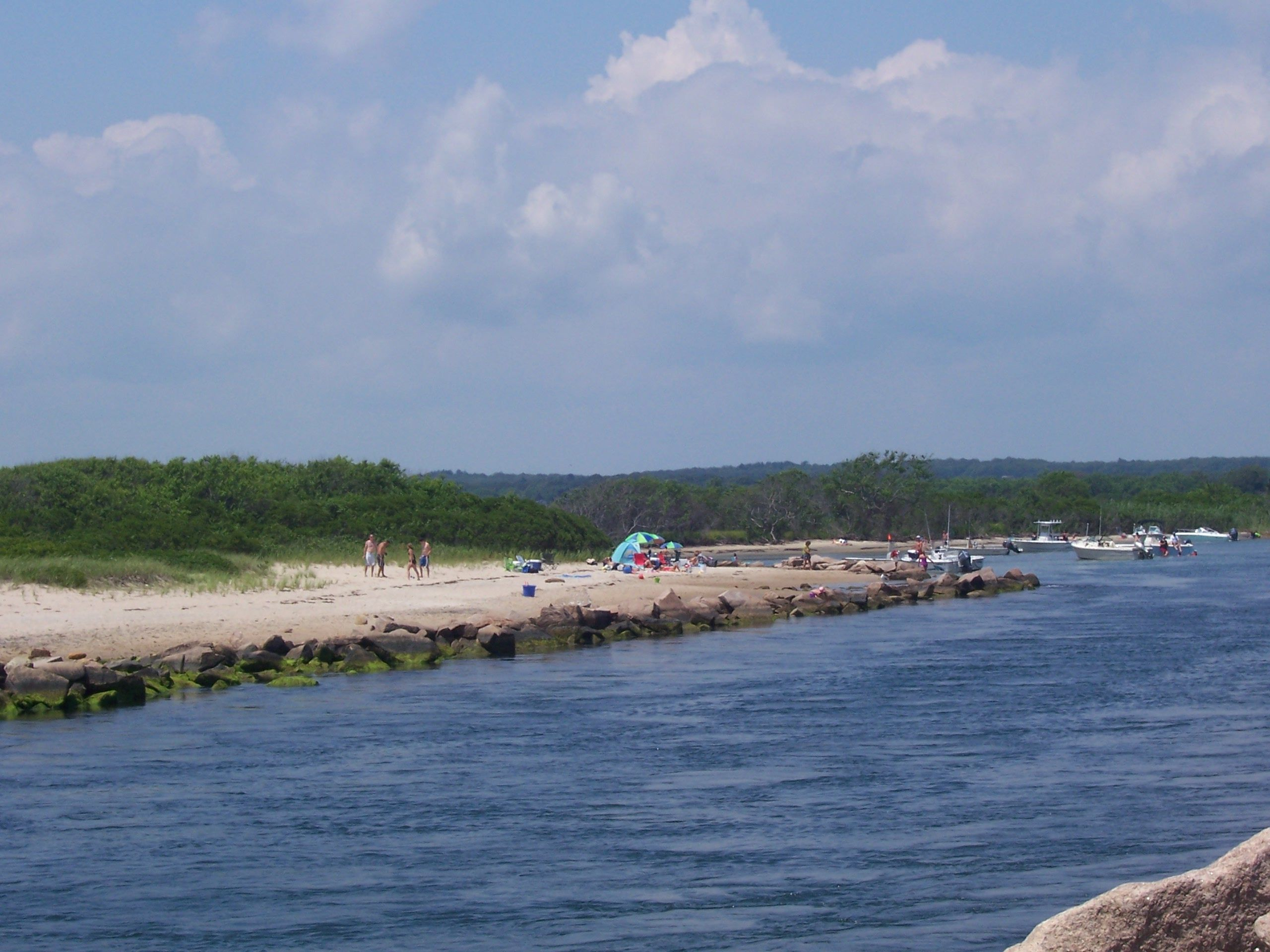 Charlestown Breachway State Beach Campground, Charlestown