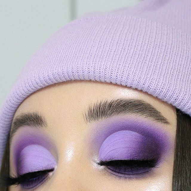 """LEGNA🌸 on Instagram """"All purple vibe 💜🍆🌌. . Products used"""