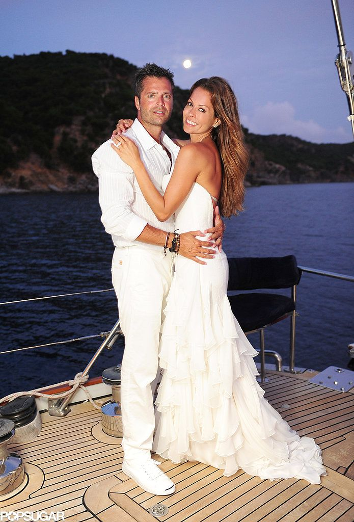 Captivating Pin For Later: The Ultimate Celebrity Wedding Gallery Brooke Burke And  David Charvet Wed In August 2011 In St.