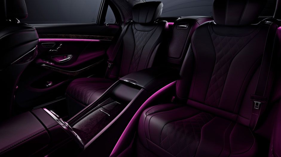 with Black Exclusive Nappa leather and Executive Rear Seat