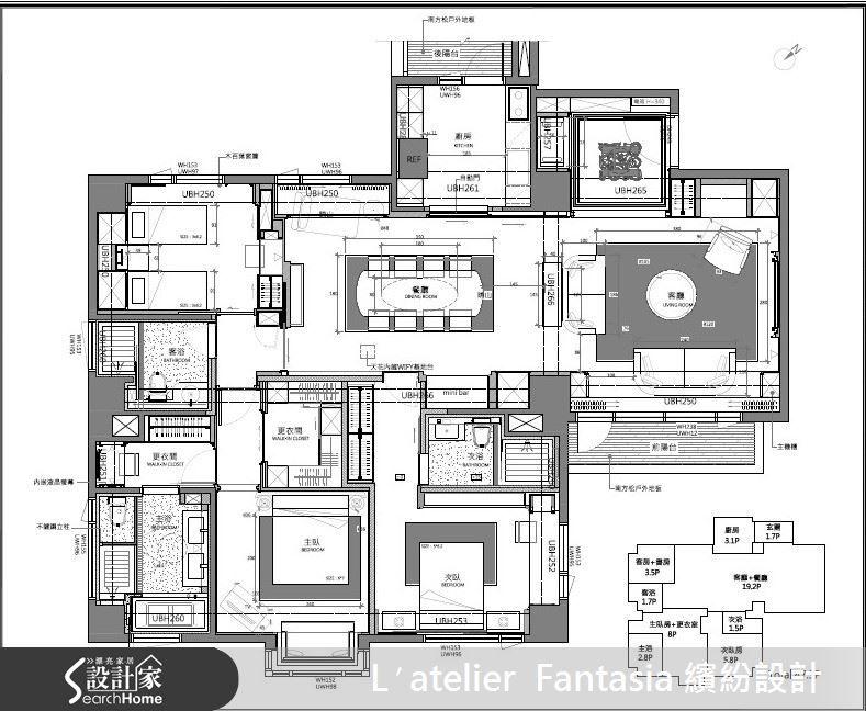 Beautiful Interior Design Layout · Lu2032atelier Fantasia 繽紛設計 江欣宜IDAN 奢華風 | 設計家 Searchome