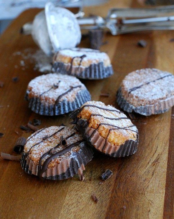 Hälsosamma Peanut Butter Cups //Baka Sockerfritt