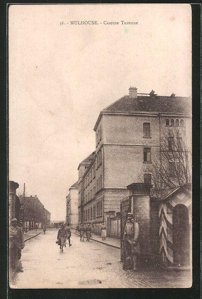 carte postale ancienne: CPA Mulhouse, Caserne Turenne (avec images) | Carte postale, Cartes ...