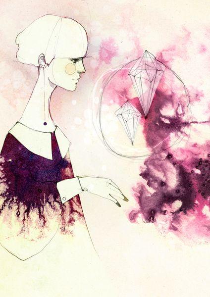 Glint | Ekaterina Koroleva #illustration