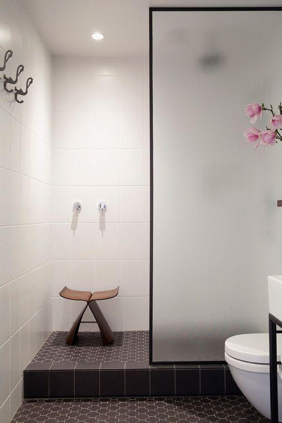 Frostat glas Badezimmer Pinterest Brillen, Fliesen und - modernes badezimmer design
