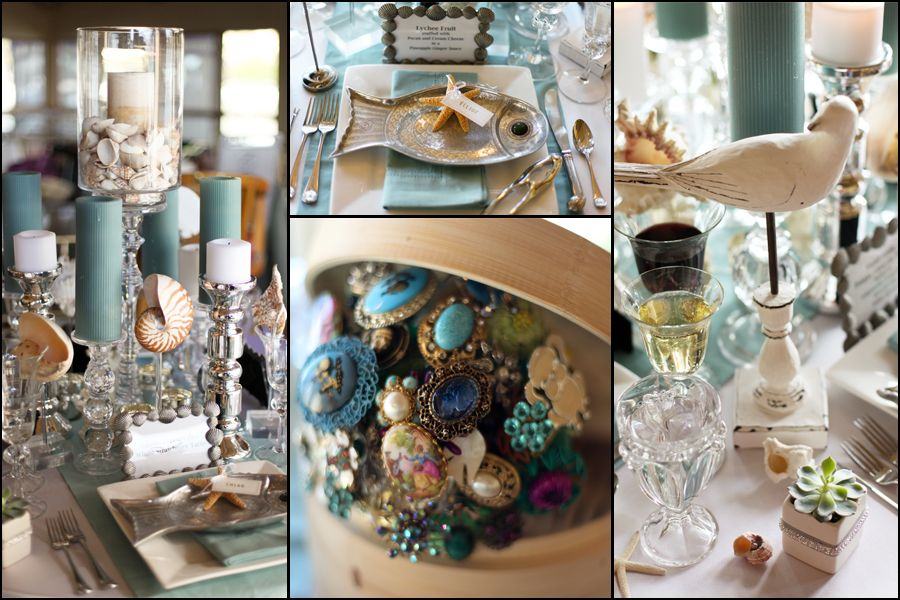 French Themed Wedding Decorations Ideas Table Settings Ocean Theme 1 Http