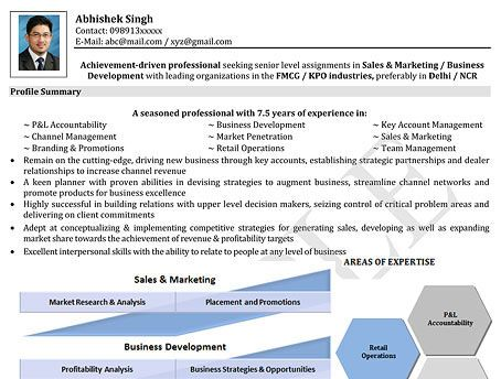 Visual Resume for Freshers job Pinterest Currículum - naukri resume format