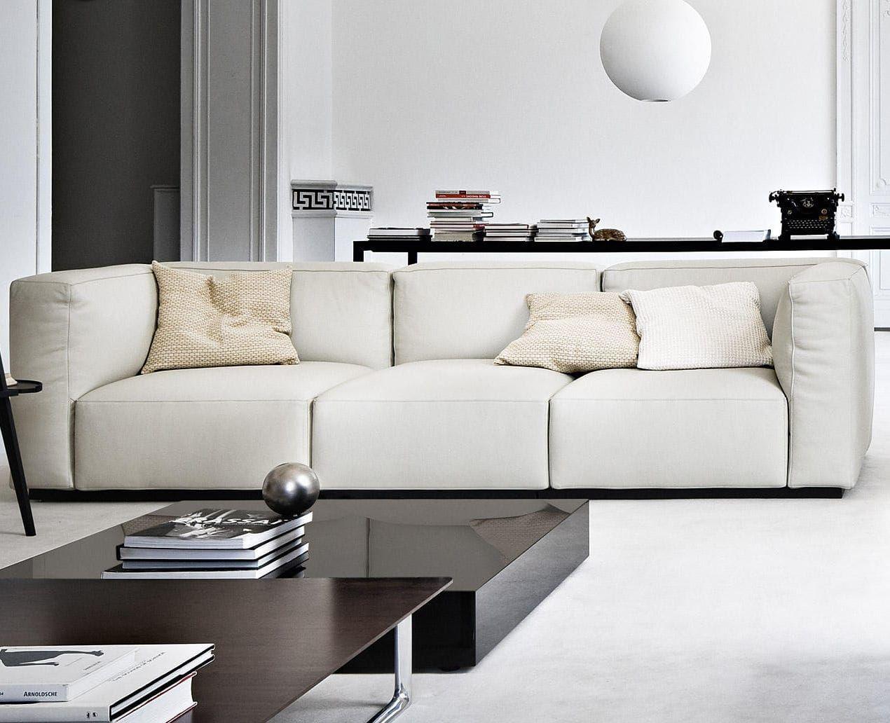 Corner Sofa Modular Contemporary Fabric 271 Mex Cube Cassina Modular Sofa Cassina Furniture Italian Furniture Brands