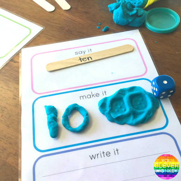 Say It, Make It, Write It For Maths | Maths, Free printable and Pre ...