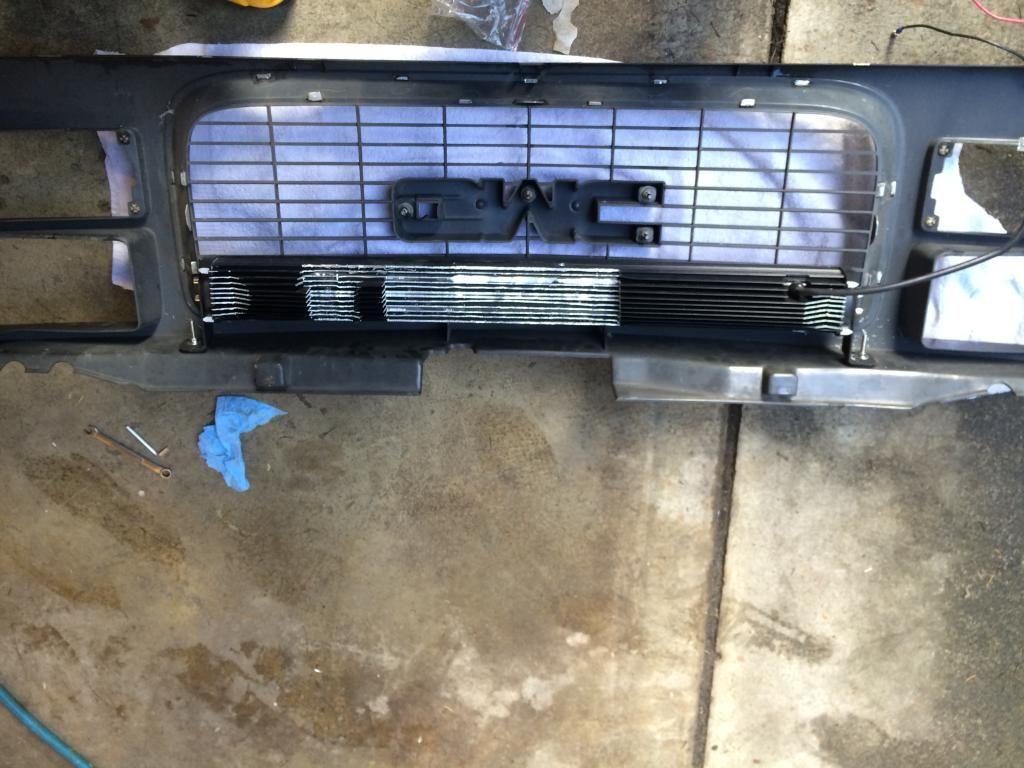 For Chevy//GMC C//K Suburban GMT400 3 inches Black Bumper Push Bull Bar Skid Plate Relocation Kit