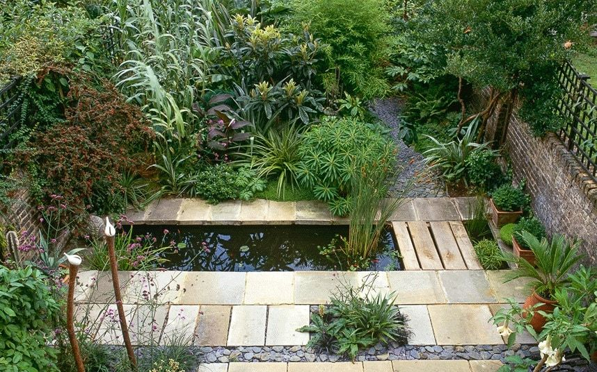 Ever thought of including water in your garden look no further for ideas