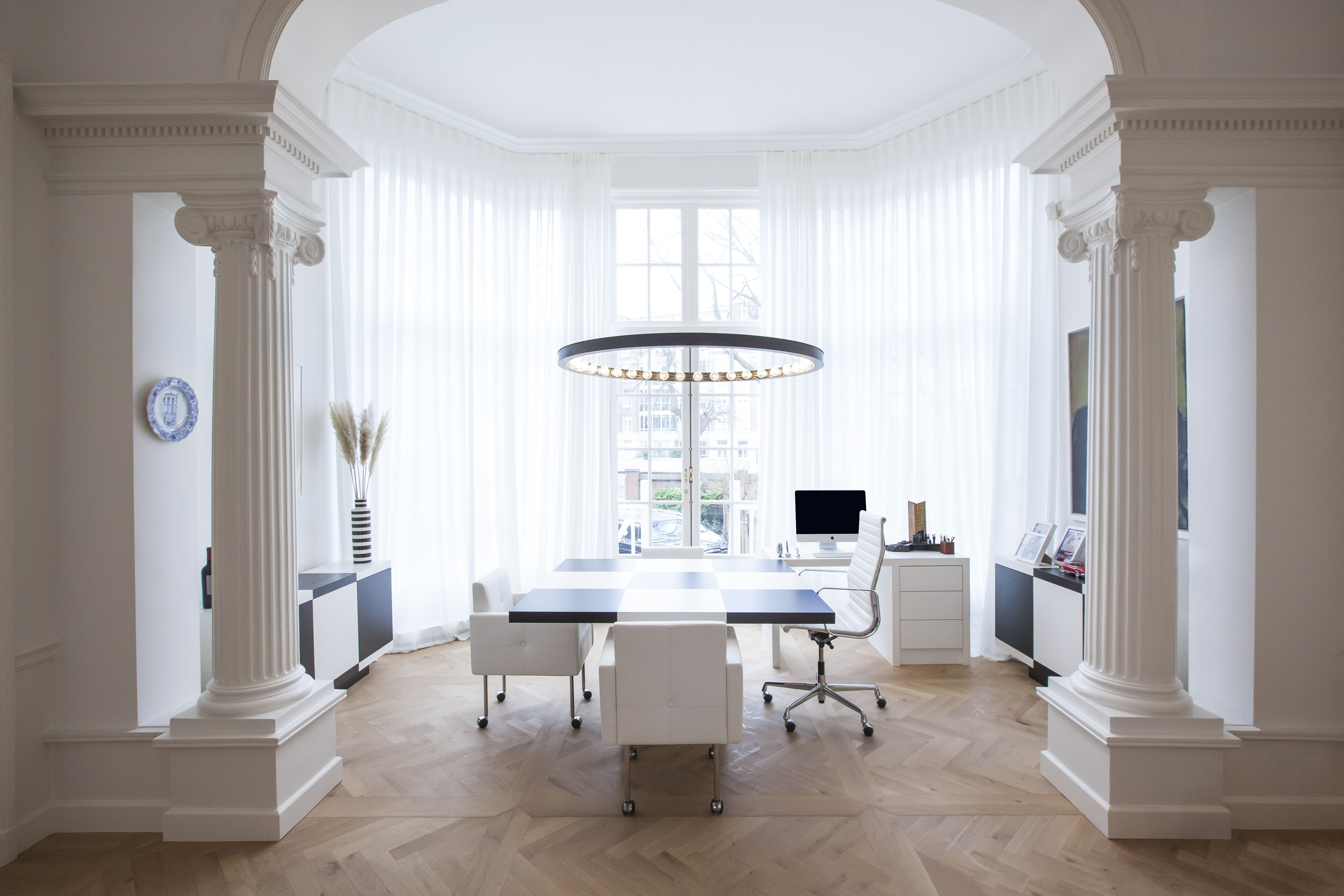 Interior design office in a residential in Amsterdam   by Studio Jan ...