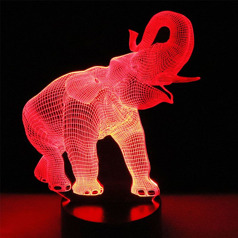 3d Illusion Lamps 3d Elephant Illusion Lamp 3d Holograms Novarian Creations 3d Illusion Lamp 3d Night Light 3d Illusions