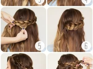 tuto coiffure r aliser une tresse couronne mariage pinterest tuto coiffure tuto et tresses. Black Bedroom Furniture Sets. Home Design Ideas