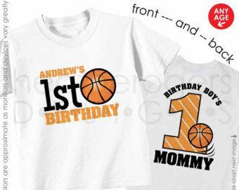 2e2fe0e45f12 birthday boy basketball shirt - customized with birthday boys name ...