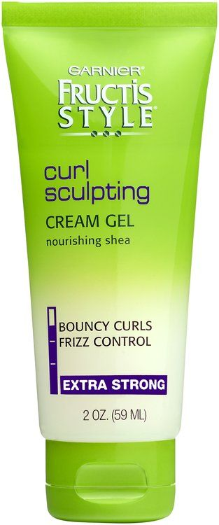 Fructis Style Curl Sculpting Cream Gel Extra Strong Hold 2 Oz