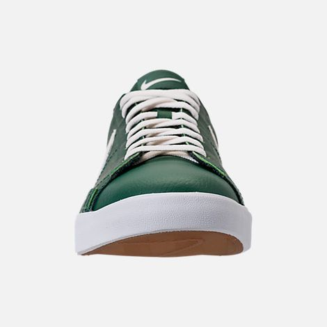 front view of men's nike blazer low leather casual shoes