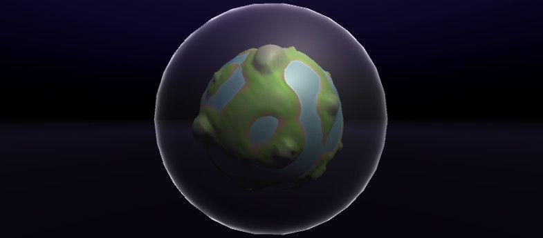 Simple Planet Generator - Procedural Planets #Generator#Planet
