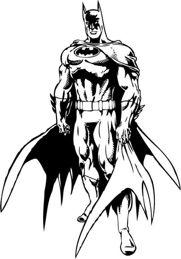 Batman (8) | Graphics4 | Pinterest | Batman coloring pages, Batman ...