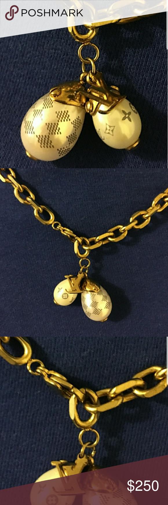 Last chance Authentic 100% Louis Vuitton necklace ...
