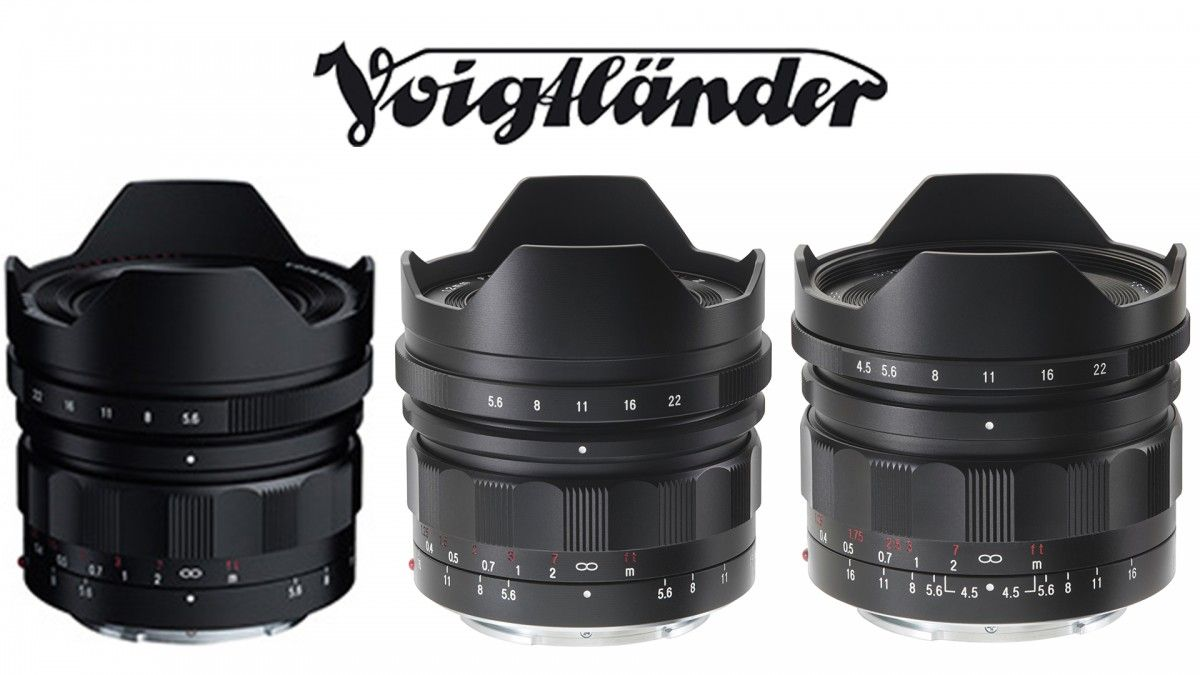 Voigtlander Has Three New Insanely Wide Full Frame E Mount Lenses 10mm 12mm 15mm Lenses Binoculars