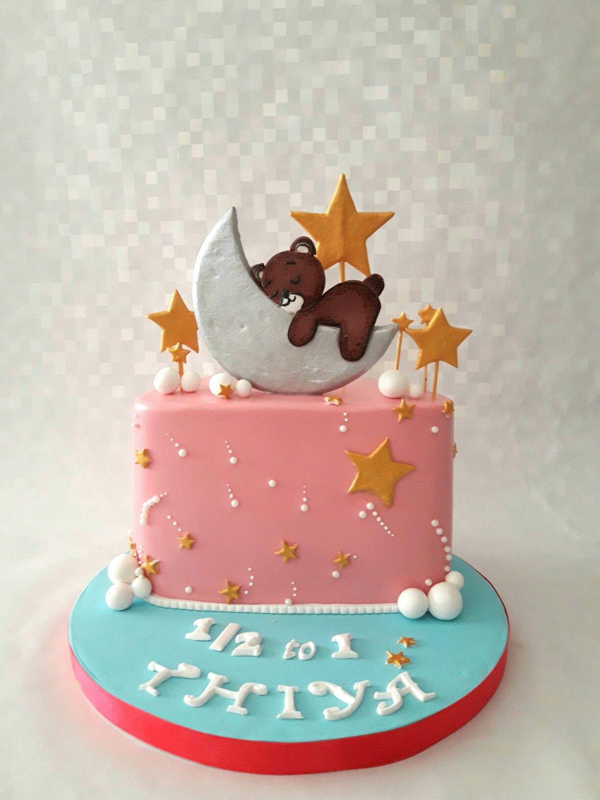 6months Celebration Cake Half Birthday Cakes Baby Birthday Cakes Birthday Cakes For Men