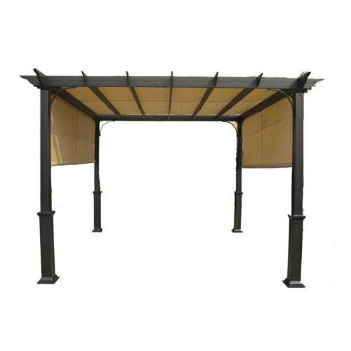 Lowes Garden Treasures 10 Ft Pergola Replacement Canopy Ebay Pergola Canopy Wooden Pergola Pergola Shade