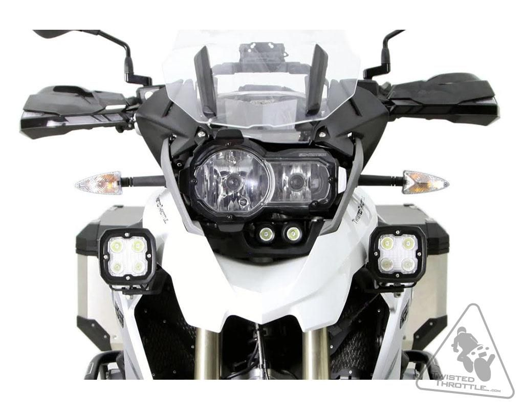Denali Auxiliary Light Mounting Bracket for BMW R1200GS LC '13-'16 |  TwistedThrottle.com