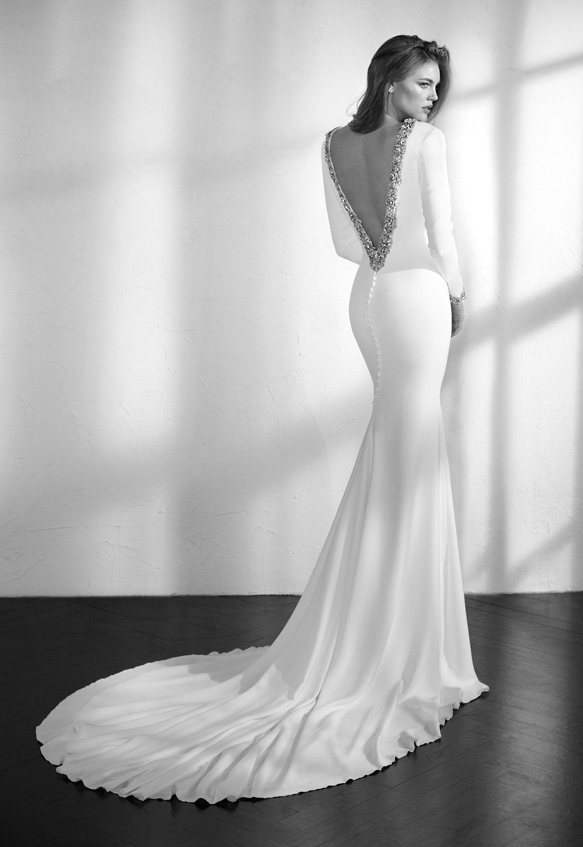 11f0282d Vestido de novia St. Patrick Studio Modelo Zabael - Eva Novias | St ...
