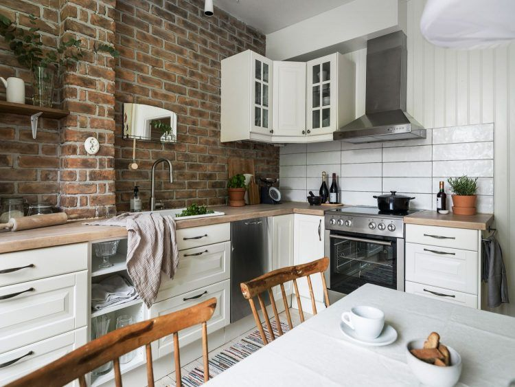 Cocinas de estilo rústico renovado   Apartment goals and Apartments