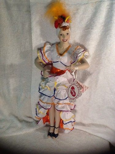 I Love Lucy The Hamilton Collection Porcelain Lucy Doll Carmen Miranda