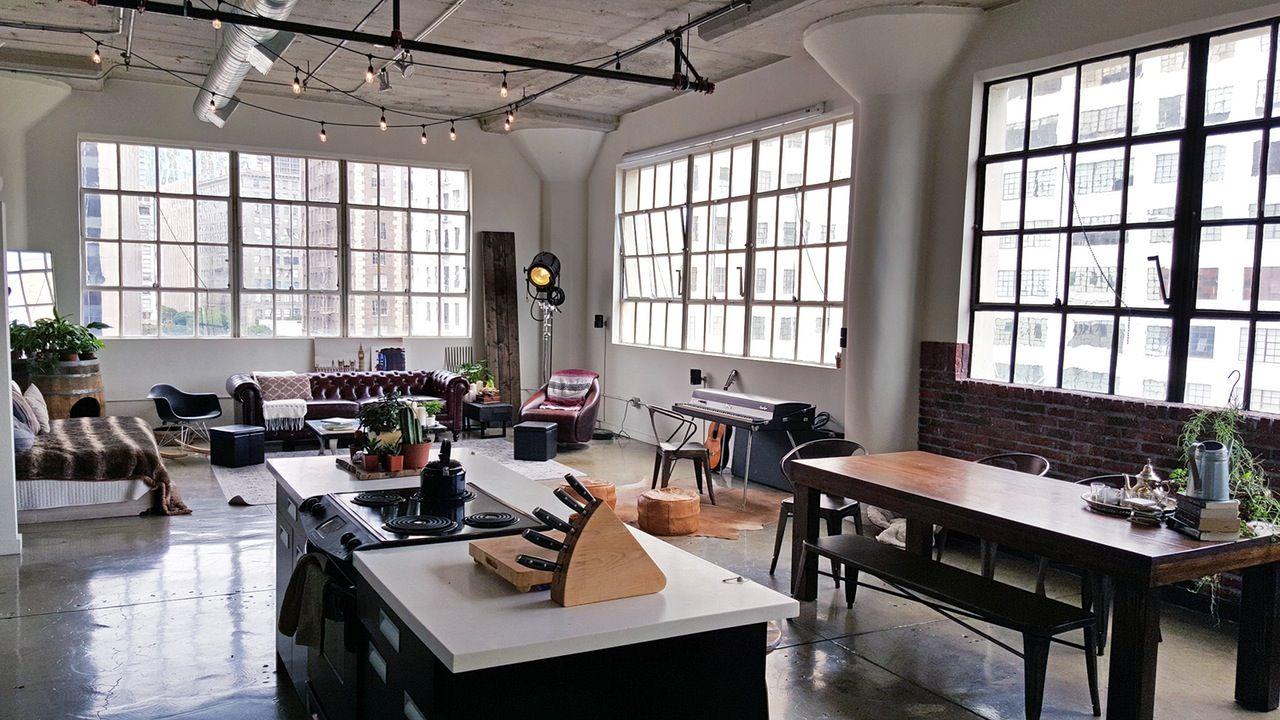 Boris Amp Maria S Industrial La Loft With A Vintage Twist
