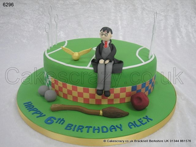 How To Quidditch Hoops Cake Topper