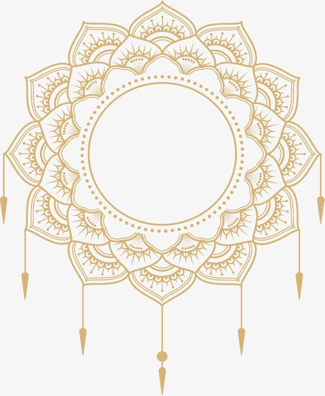 Gold Mandala Title Png Free Download Vector Png European Style Decorative Pattern Png And Vector With Transparent Background For Free Download Contoh Undangan Pernikahan Desain Grafis Bingkai