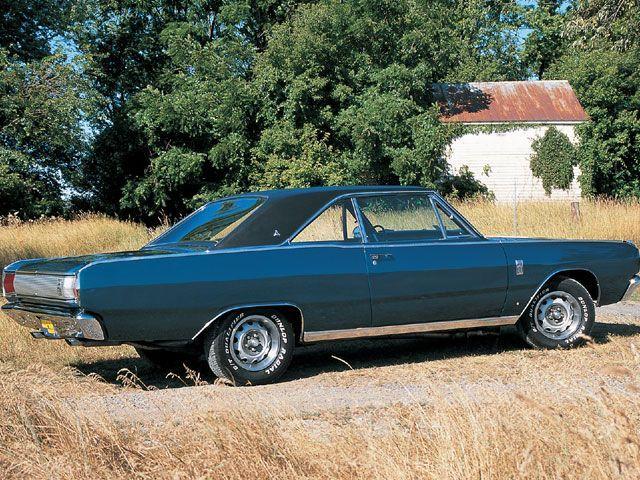 Black Vinyl Top 1967 Dart Exteriors Dodge Dart Gt