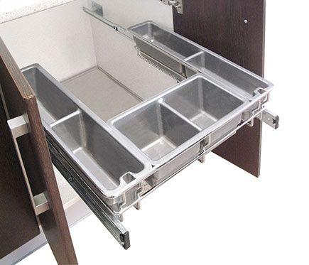 Accesorio extraíble bajo fregadero 60CM GUÍAS | Ideas de cocinas ...