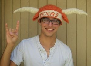 Texas Longhorn Hat, free pattern